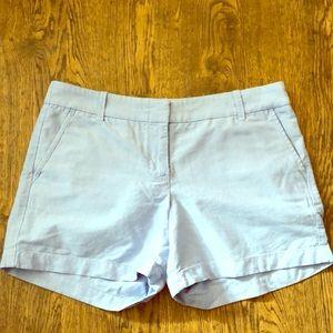 Light Blue J Crew Shorts